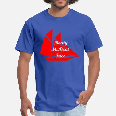 Boaty Mcboatface Boaty McBoat Face - Men's T-Shirt