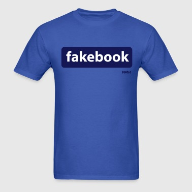 fakebook by wam - Men's T-Shirt