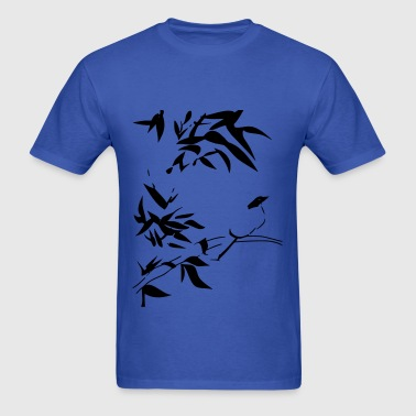 Bird and Bamboo - Men's T-Shirt