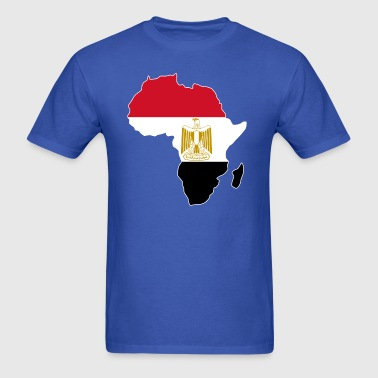 Egypt Flag Africa Map - Men's T-Shirt