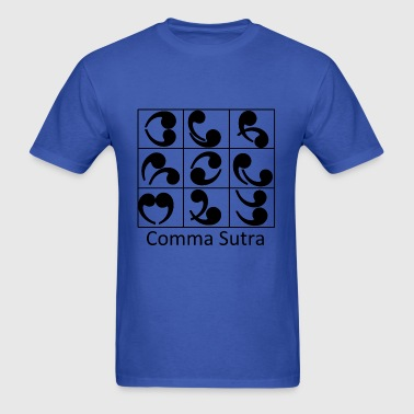Comma Sutra - Men's T-Shirt
