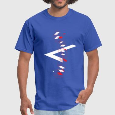 Space type 3-dimensional - Men's T-Shirt