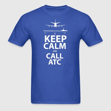 keepcalm_call_atc - Men's T-Shirt