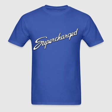 Supercharged script - AUTONAUT.com - Men's T-Shirt