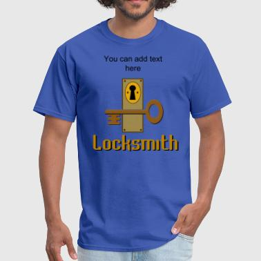 Template Design Locksmith Design - Men's T-Shirt