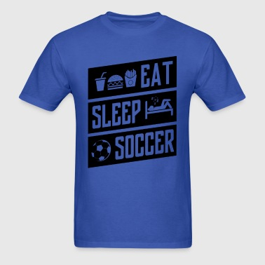 eat sleep soccer - Men's T-Shirt