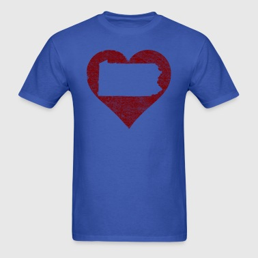 Pennsylvania Heart Clothing Apparel Tees - Men's T-Shirt