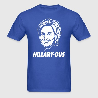 HIllary-ous - Men's T-Shirt