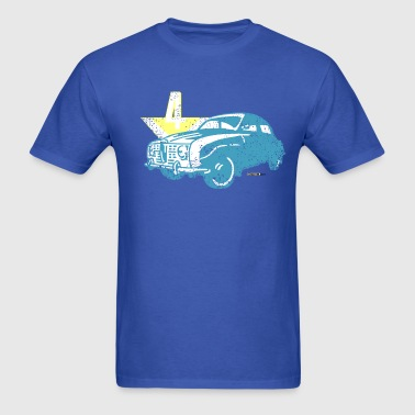 Distressed Saab 96 V4 - AUTONAUT.com - Men's T-Shirt