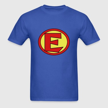 Super, Hero, Heroine, Initials, E - Men's T-Shirt