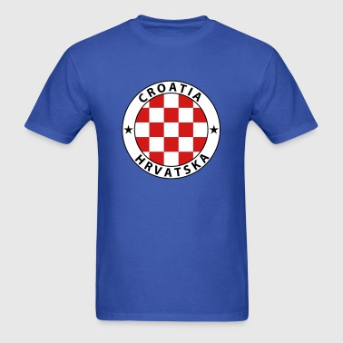 Croatia Design - Men's T-Shirt