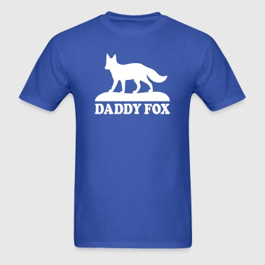 daddy fox family fun - T-shirt pour hommes