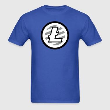 LiteCoin Logo - Men's T-Shirt