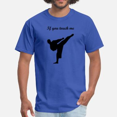 Tkd Fitness and Coffee - Men's T-Shirt