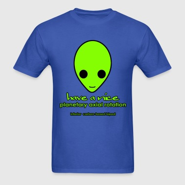 Alien Smiley - Men's T-Shirt