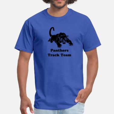 Basketball Panther panthers sports team graphic - Men's T-Shirt