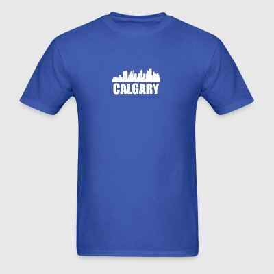 Calgary Skyline - Men's T-Shirt