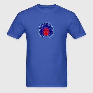 indian_chief_head - Men's T-Shirt