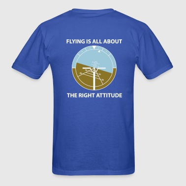 A flying attitude! - Men's T-Shirt