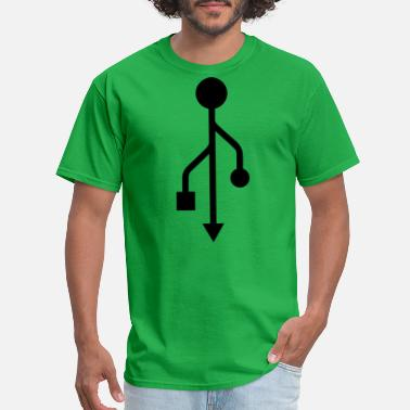 Usb USB - Men's T-Shirt