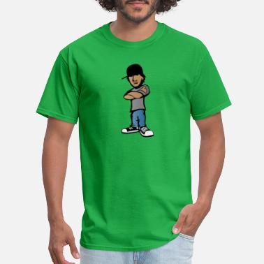 Hooligan Kids Kid with Attitude - Men's T-Shirt