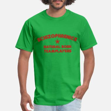 Funny Cats &amp Definition Schizophrenic - Men's T-Shirt