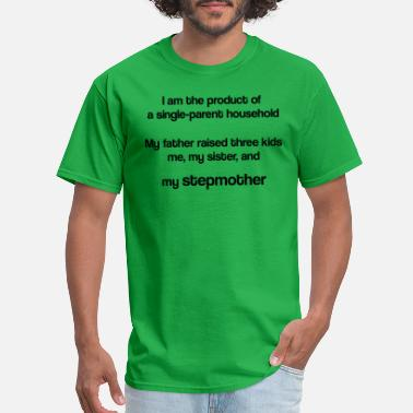 Kid Raising My father raised three kids - Men's T-Shirt