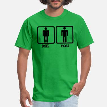 Size Penis - Men's T-Shirt
