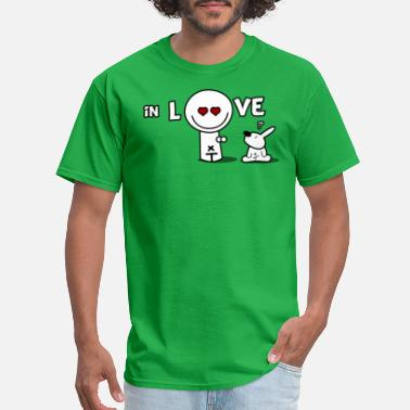 I Love U I love U - Men's T-Shirt