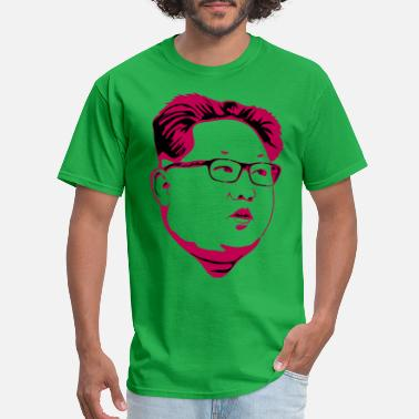 North Korea kim 3 pink - Men's T-Shirt