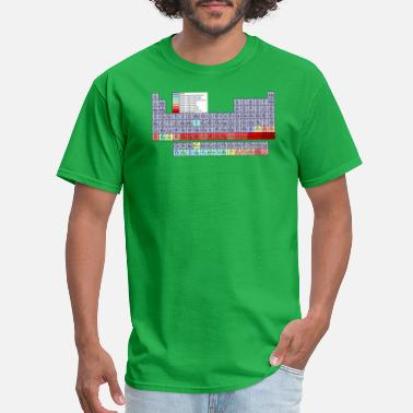 Periodic Table Elements Back To School - Periodic Table - Men's T-Shirt