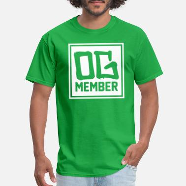 Original Gangster OG MEMBER - Men's T-Shirt
