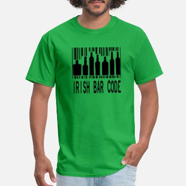 Irish Bar Irish bar code 1 - Men's T-Shirt