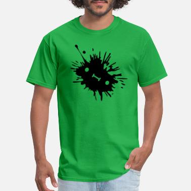 Color Splash Ink stain with - Men's T-Shirt