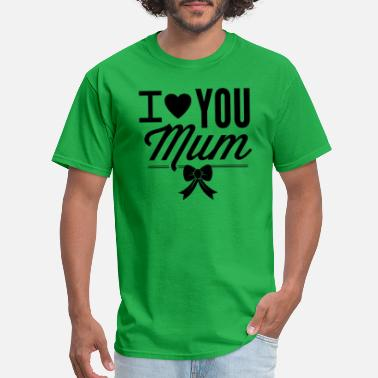 Supermum I_love_you_mom - Men's T-Shirt