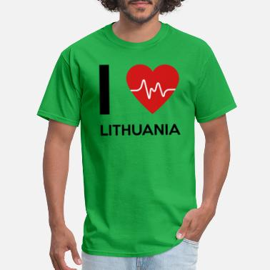 I Love Lithuania I Love Lithuania - Men's T-Shirt