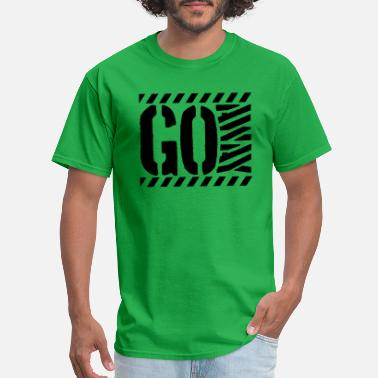 Barrier Tape Barrier tape Go - Men's T-Shirt