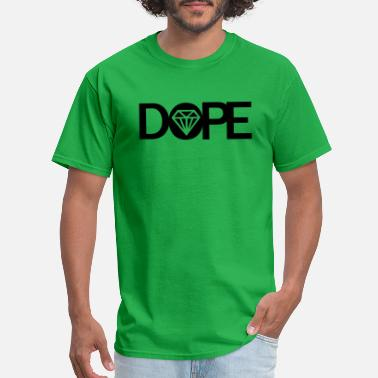 Cool Dope Funny Geek Anime DOPE DIAMOND - Men's T-Shirt
