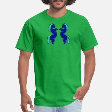 Los Amantes TWO HORSE - Men's T-Shirt