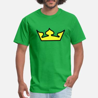 Crown Krone krone crown koenig king castle schloss tower burg5 - Men's T-Shirt