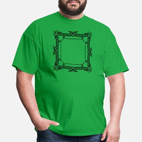 7fa244b9 victorian frame Men's T-Shirt | Spreadshirt