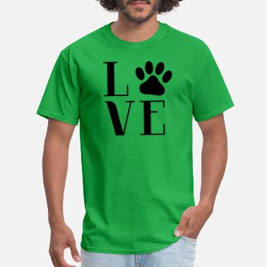 Love Dogs - Men's T-Shirt