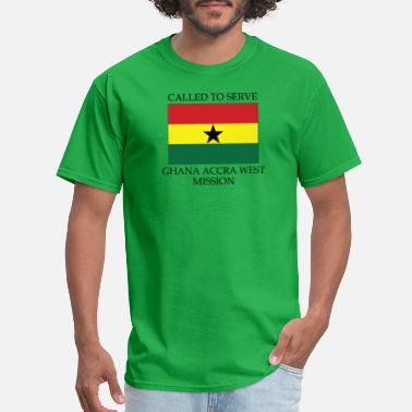 Accra Ghana Accra West LDS Mission Called to Serve - Men's T-Shirt