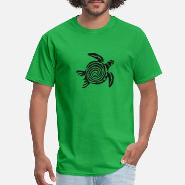 Funny Naughty Draw Tortoise Naughty Turtle Drawing Comic Style - Men's T-Shirt