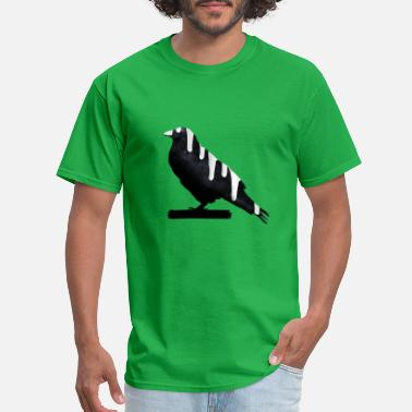Bird Droppings Dripping Bird - Men's T-Shirt