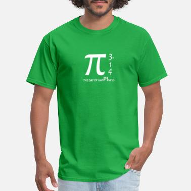 3 14 Pi day - The day of happiness 3 14 - Men's T-Shirt