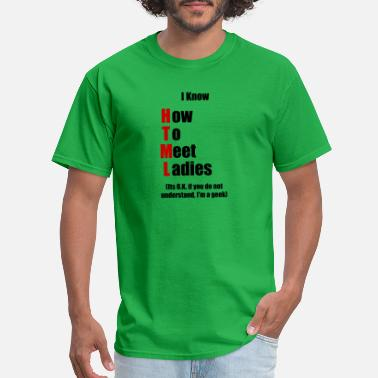 Html I Know HTML - Men's T-Shirt