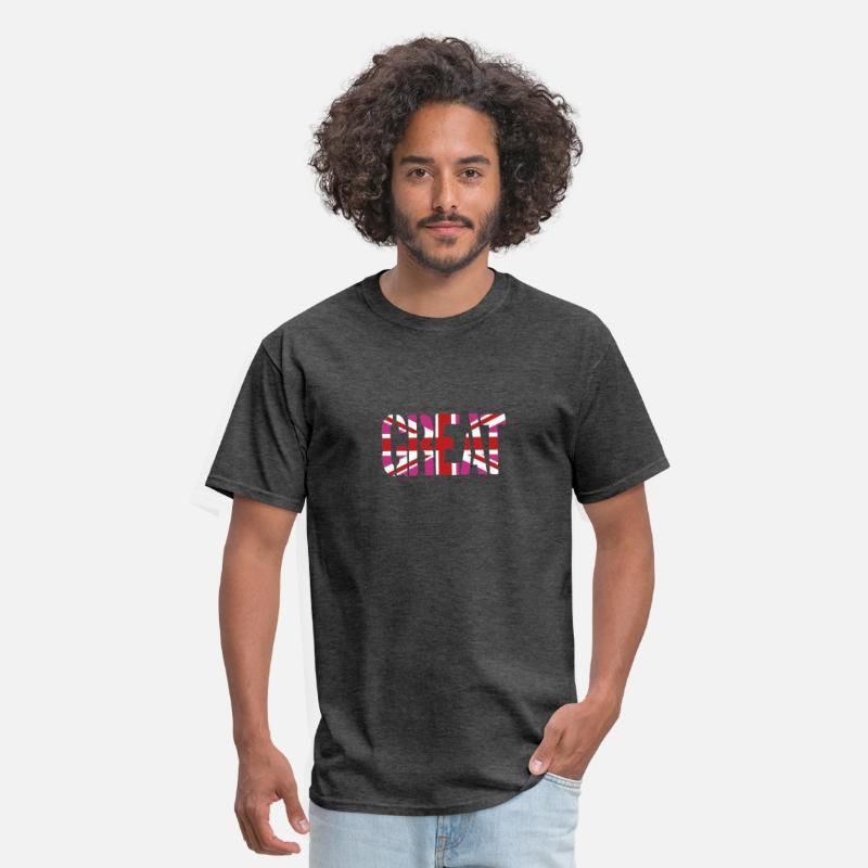 4db310c2c Great Britain Flag, British Flag, Union Jack, UK Fl Men's T-Shirt |  Spreadshirt