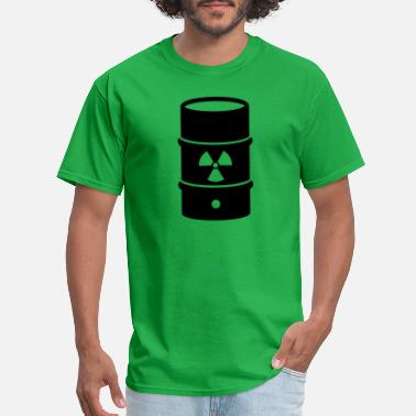Nuclear Energy atomic waste biohazard nuclear energy - Men's T-Shirt