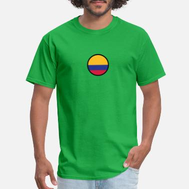 Cocaine Cycling Marked By Colombia - Men's T-Shirt